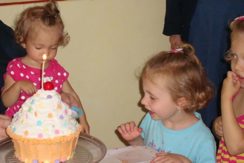 Cassie Cupcake Cake